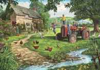Old Tractor (Large Pieces) (JUM11140), a 200 piece jigsaw puzzle by Jumbo and artist Steve Crisp. Click to view this jigsaw puzzle.