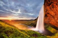 Seljalandsfoss Water.... Click to view this product