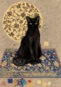 Black Cat (HEY29719), a 1000 piece HEYE jigsaw puzzle.