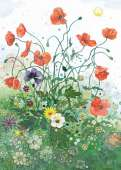 Red Poppies (Foil Printing) (HEY29774), a 1000 piece jigsaw puzzle by HEYE and artist Jane Crowther. Click to view this jigsaw puzzle.
