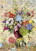Flower's Life (HEY29787), a 1000 piece jigsaw puzzle by HEYE and artist Marino Degano. Click to view this jigsaw puzzle.