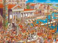 Ancient Rome (HEY29791), a 1500 piece HEYE jigsaw puzzle.