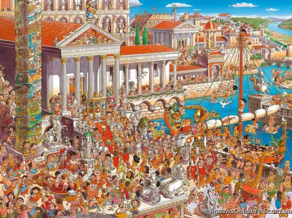 Ancient Rome (HEY29791), a 1500 piece jigsaw puzzle by HEYE.