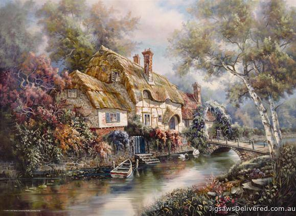 Stonewall Cottage (ANA3089), a 1000 piece jigsaw puzzle by Anatolian.