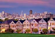Painted Ladies, San Francisco (EDU17119), a 1500 piece Educa jigsaw puzzle.