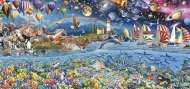 Life (Panorama) (EDU17132), a 3000 piece Educa jigsaw puzzle.