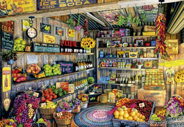 Grocery Store (EDU17128), a 2000 piece jigsaw puzzle by Educa.