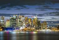 Sydney Twilight (EDU17106), a 1000 piece Educa jigsaw puzzle.