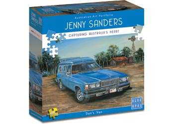Don's Van (BL01971), a 1000 piece jigsaw puzzle by Blue Opal. Click to view larger image.