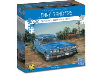 Don's Van (BL01971), a 1000 piece jigsaw puzzle by Blue Opal.