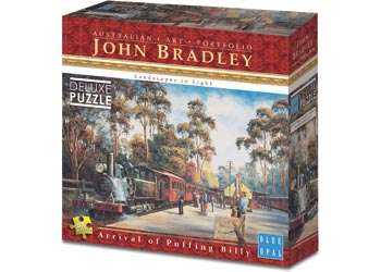 Puffing Billy (BL01985), a 1000 piece jigsaw puzzle by Blue Opal. Click to view larger image.