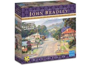 Main Street Patterson (BL01989), a 1000 piece jigsaw puzzle by Blue Opal. Click to view larger image.