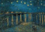 Starry Night Over The Rhone (CLE 39344), a 1000 piece Clementoni jigsaw puzzle.