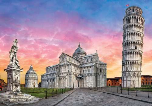 Pisa, Italy (CLE 31674), a 1500 piece jigsaw puzzle by Clementoni. Click to view larger image.
