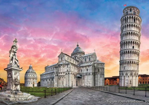 The Leaning Tower of Pisa, Italy (CLE 31674), a 1500 piece jigsaw puzzle by Clementoni.