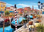 Venetian Lagoon (CLE 35026), a 500 piece Clementoni jigsaw puzzle.