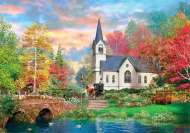 Colourful Autumn (CLE 31675), a 1500 piece Clementoni jigsaw puzzle.