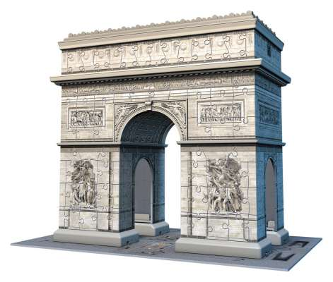 The Arc de Triomphe (RB12514-2), a 216 piece jigsaw puzzle by Ravensburger. Click to view larger image.