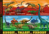 Extreme Dinosaurs SuperSize (RB05516-6), a 60 piece Ravensburger jigsaw puzzle.