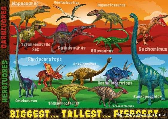 Extreme Dinosaurs SuperSize (RB05516-6), a 60 piece jigsaw puzzle by Ravensburger.