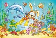 Diving Adventure (RB07603-1), a 12 piece Ravensburger jigsaw puzzle.