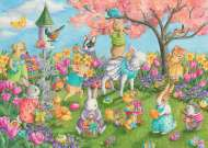 Egg Hunt (RB08795-2), a 35 piece Ravensburger jigsaw puzzle.
