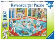 Martial Arts Class (RB10968-5), a 100 piece Ravensburger jigsaw puzzle.