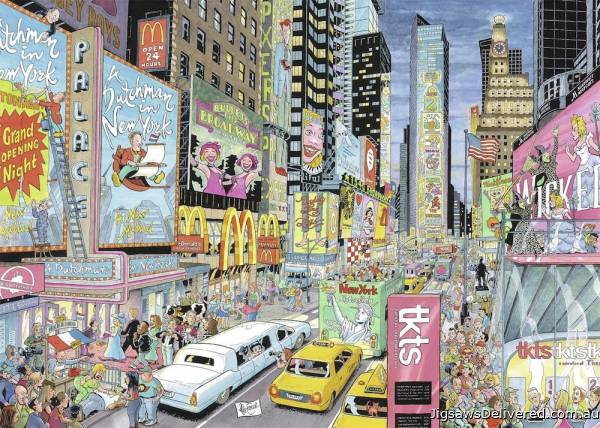 New York (RB19732-3), a 1000 piece jigsaw puzzle by Ravensburger.