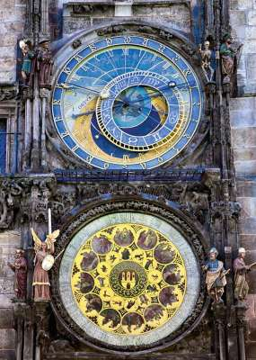 Astronomical Clock (RB19739-2), a 1000 piece jigsaw puzzle by Ravensburger. Click to view larger image.