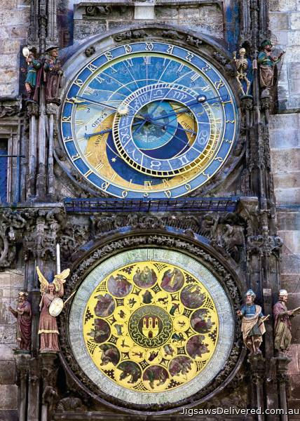 Astronomical Clock (RB19739-2), a 1000 piece jigsaw puzzle by Ravensburger.