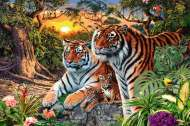 Hidden Tigers (RB17072-2), a 3000 piece jigsaw puzzle by Ravensburger. Click to view this jigsaw puzzle.