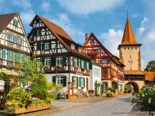 Gengenbach, Germany (RB13686-5), a 500 piece jigsaw puzzle by Ravensburger.