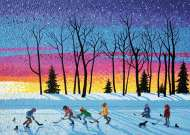 Sundown And Stars, Canada (RB19544-2), a 1000 piece Ravensburger jigsaw puzzle.