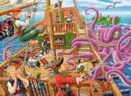Pirate Boat Adventure (RB10939-5), a 100 piece Ravensburger jigsaw puzzle.