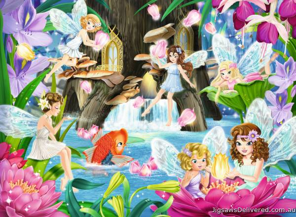 Magical Fairy Night (RB10942-5), a 100 piece jigsaw puzzle by Ravensburger.