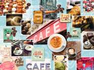 Coffee And Cake (RB16346-5), a 1500 piece Ravensburger jigsaw puzzle.
