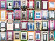 Portuguese Windows (RB16217-8), a 1500 piece Ravensburger jigsaw puzzle.