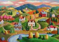 Rolling Hills (Large Pieces) (RB13583-7), a 300 piece jigsaw puzzle by Ravensburger. Click to view this jigsaw puzzle.