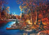 Still Of The Night (Large Pieces) (RB14916-2), a 500 piece Ravensburger jigsaw puzzle.