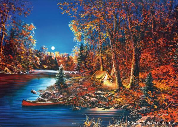 Still Of The Night (Large Pieces) (RB14916-2), a 500 piece jigsaw puzzle by Ravensburger.