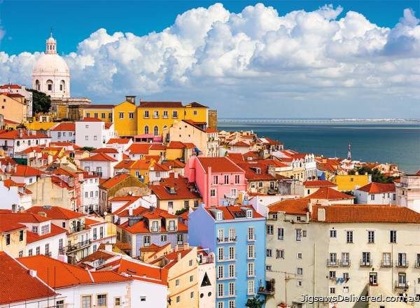 Lisbon, Portugal (RB14757-1), a 500 piece jigsaw puzzle by Ravensburger.
