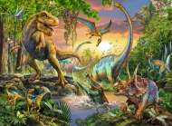 Ancient Dinos (RB12829-7), a 200 piece Ravensburger jigsaw puzzle.