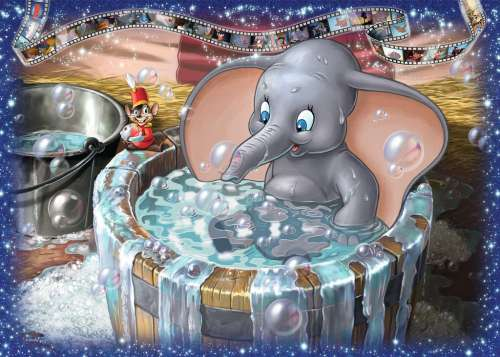 Dumbo (RB19676-0), a 1000 piece jigsaw puzzle by Ravensburger. Click to view larger image.