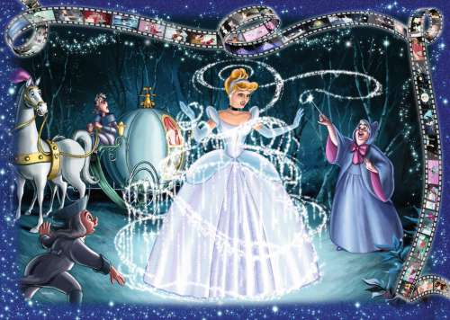 Cinderella (RB19678-4), a 1000 piece jigsaw puzzle by Ravensburger. Click to view larger image.