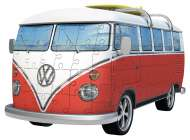 VW Combi Bus (3D Puzzle) (RB12516-6), a 162 piece jigsaw puzzle by Ravensburger. Click to view this jigsaw puzzle.