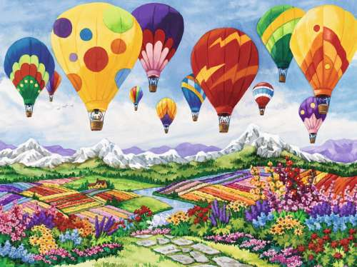 Spring is in the Air (RB16347-2), a 1500 piece jigsaw puzzle by Ravensburger. Click to view larger image.