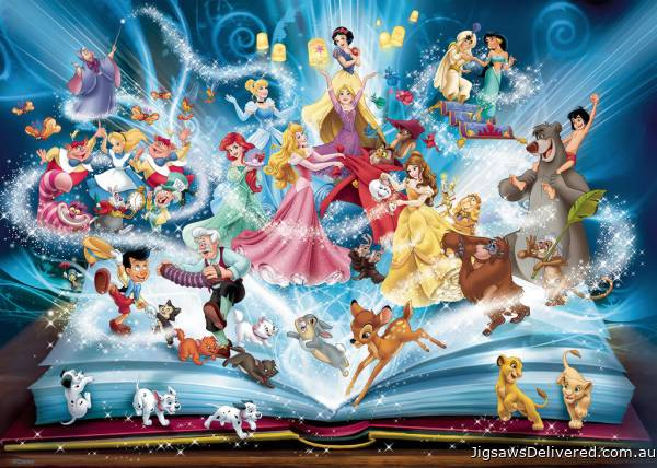 Disney Magical Storybook (RB16318-2), a 1500 piece jigsaw puzzle by Ravensburger.
