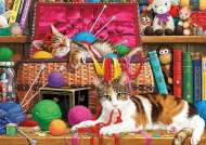 Purrfect Life (HOL098941), a 300 piece Holdson jigsaw puzzle.