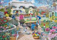 Winter Garden (Large Pieces) (HOL098453), a 500 piece Holdson jigsaw puzzle.