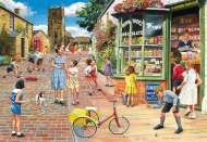 Hopscotch Hill (The Village) (HOL098323), a 1000 piece Holdson jigsaw puzzle.